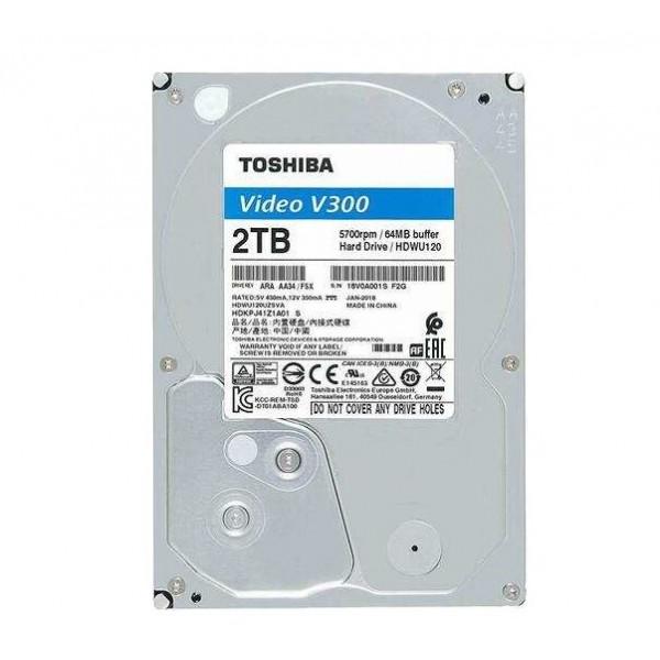 Ổ cứng chuyên dụng 2TB TOSHIBA HDWU120UZSVA