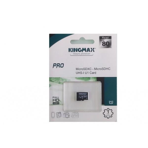 Thẻ nhớ KINGMAX KM128GMCSDUHSP 128GB (Micro SD Pro Class 10)